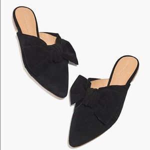 Madewell The Remi Bow Mule Shoes | Size 7